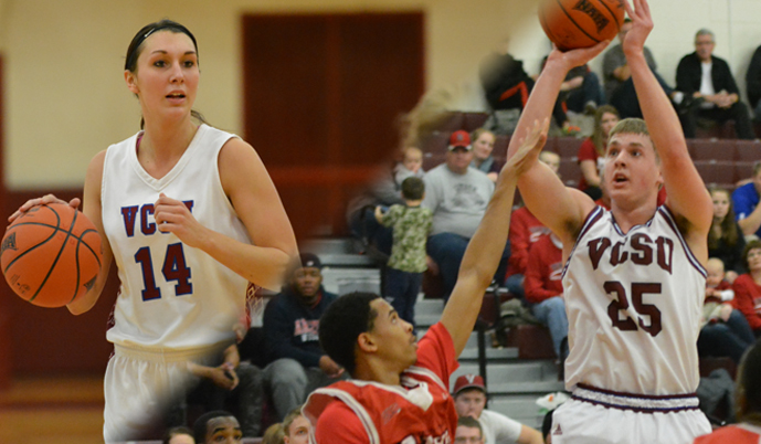 Sierra Even, Briton Bussman and the Viking basketball teams are at Dakota State on Saturday.