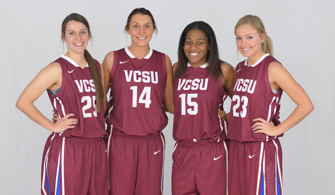 VCSU will honor its four senior basketball players Wednesday night.