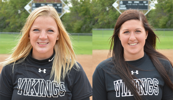 Cejay Hilhorst, left, and Lindsey White.