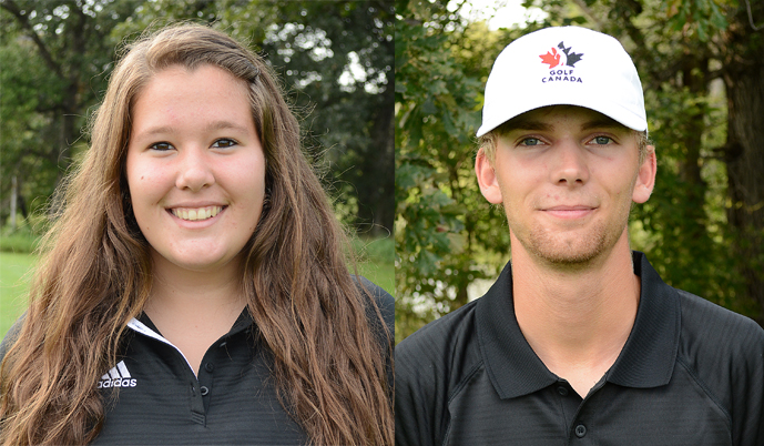 Nicole Heinitz placed 2nd, and Kyle Wiebe placed 7th at the BSC Invite.