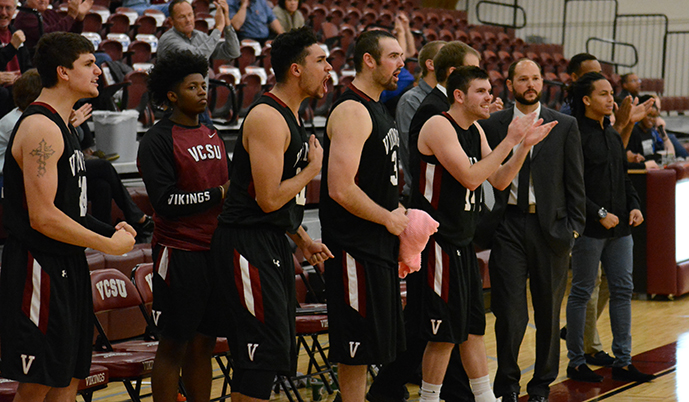 Photo for Men's Basketball hosts former conference foe Minot St. on Monday