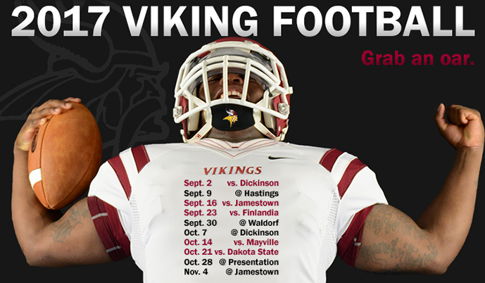 Photo for VCSU football releases 2017 schedule