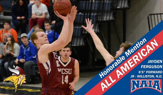 Photo for Ferguson named Honorable Mention All American