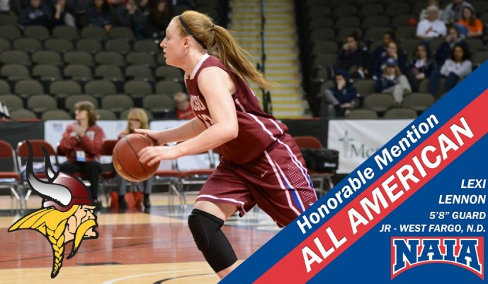 Photo for Lexi Lennon earns Honorable Mention All American