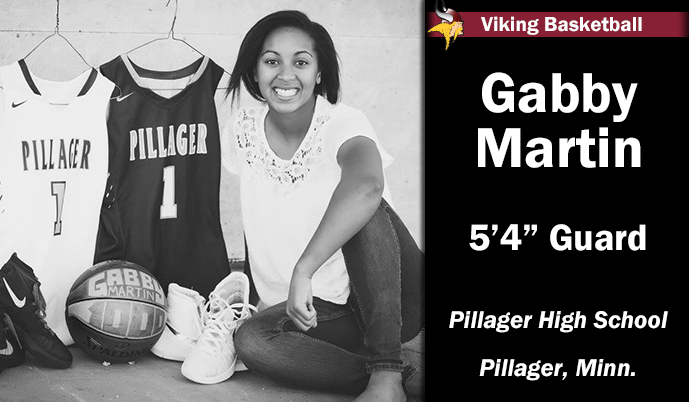 Photo for Viking Women sign decorated Minnesota guard Gabby Martin