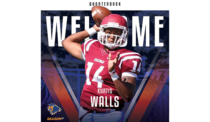 Photo for Kurtis Walls signs to play in Czech Republic