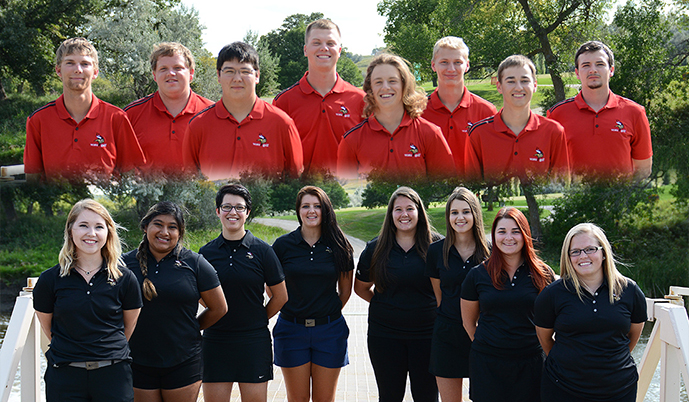 Photo for Viking men 3rd, women in 5th after NSAA Fall Championships