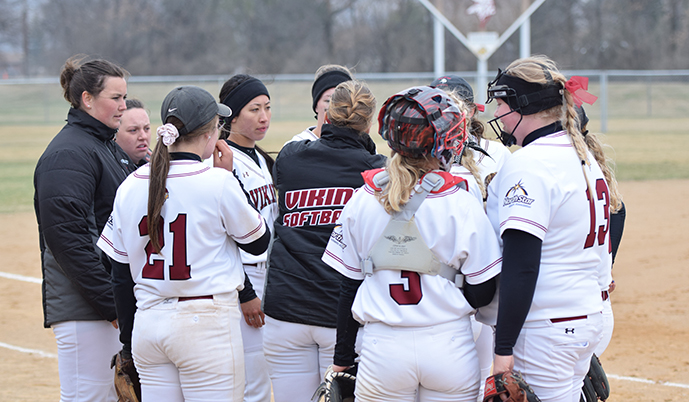 Photo for Viking Softball Swept by Regina in exhibition games
