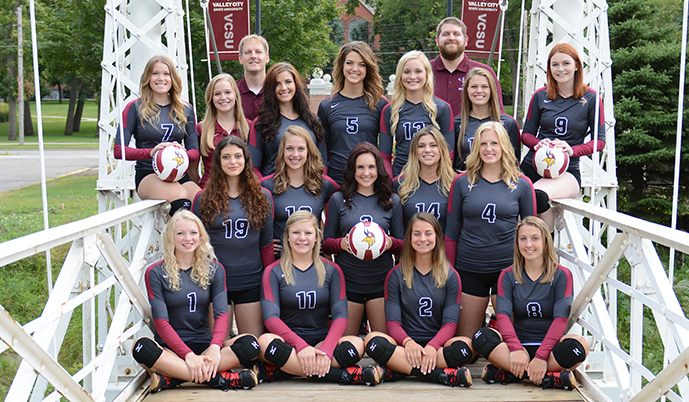 Photo for Volleyball goes 0-2 on NSAA road swing