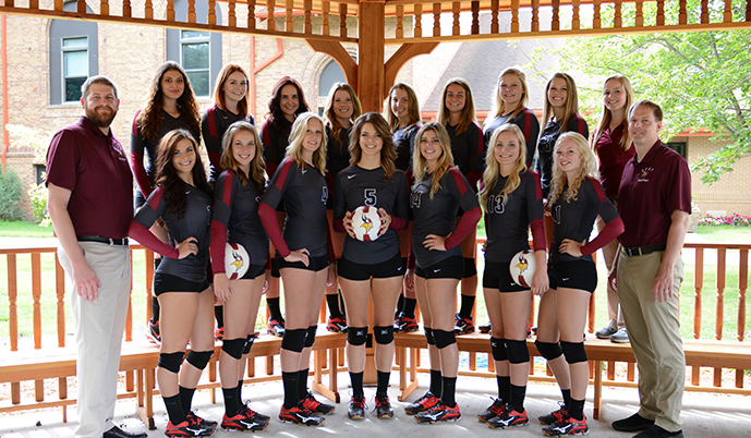 Photo for VCSU Volleyball Falls 3-1 to Dickinson State