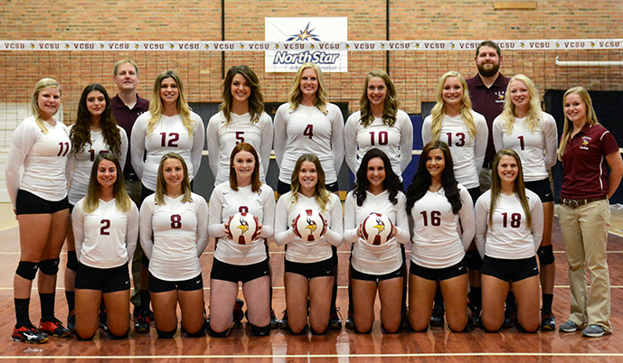 Photo for Volleyball season ends in NSAA semifinals