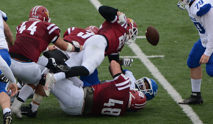 The VCSU defense was dominant last weekend in a 58-0 win against Mayville State.
