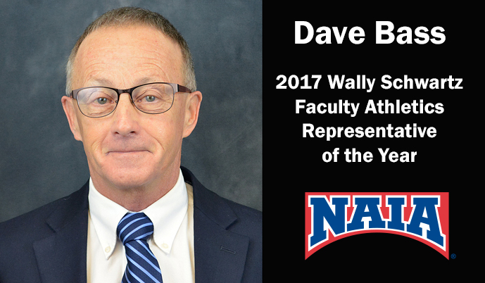 Photo for VCSU's Dave Bass named NAIA Faculty Athletics Rep of the Year