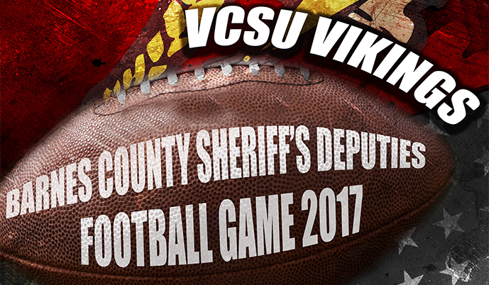 Photo for Vikings partner with Barnes County for annual Deputies Game