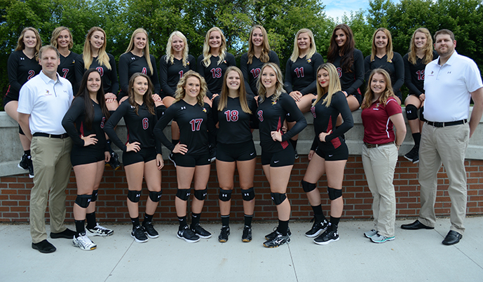Photo for Volleyball: Vikings drop NSAA opener at Presentation College