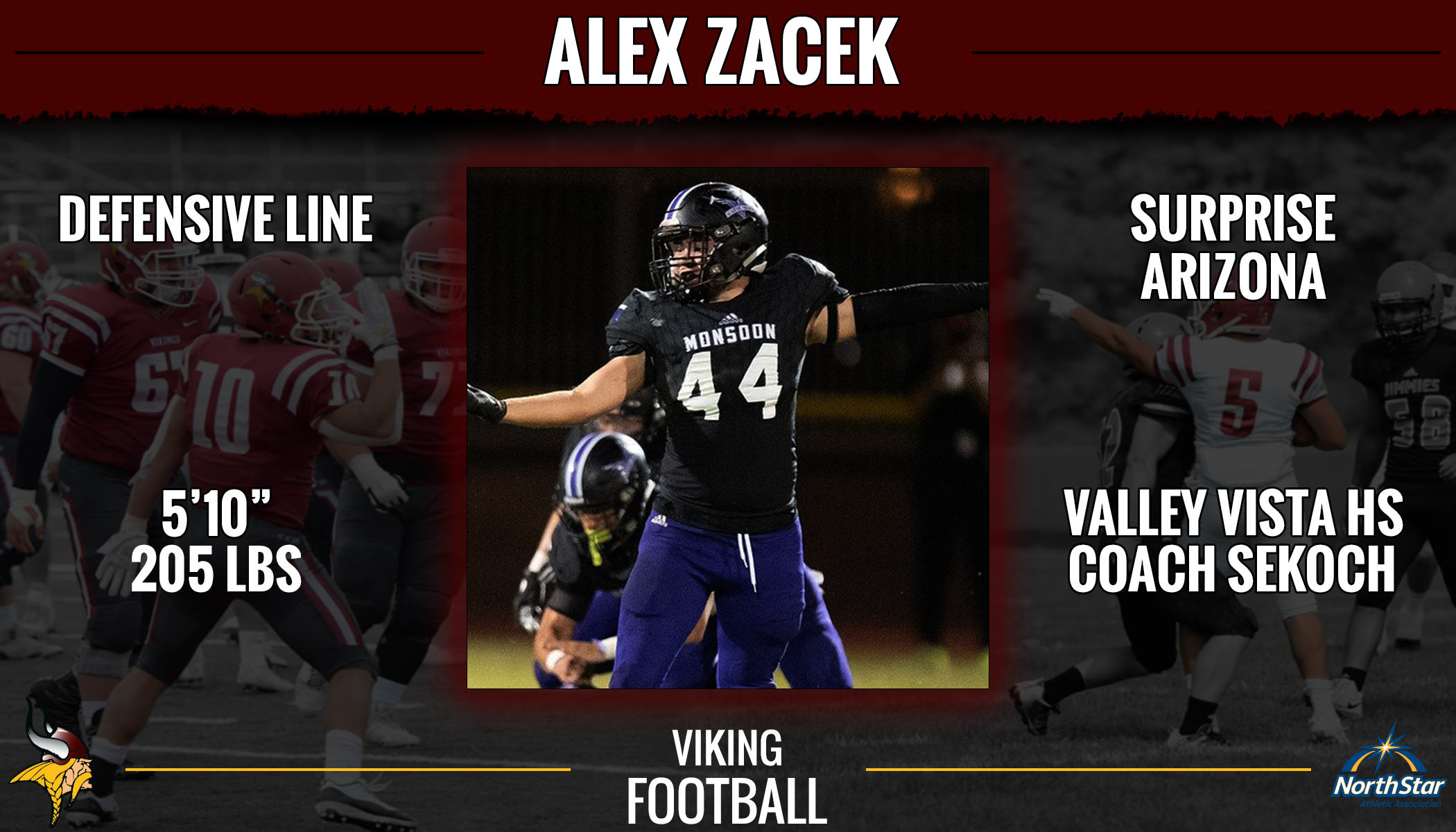 Viking Football signs 41 student-athletes for 2019   Valley