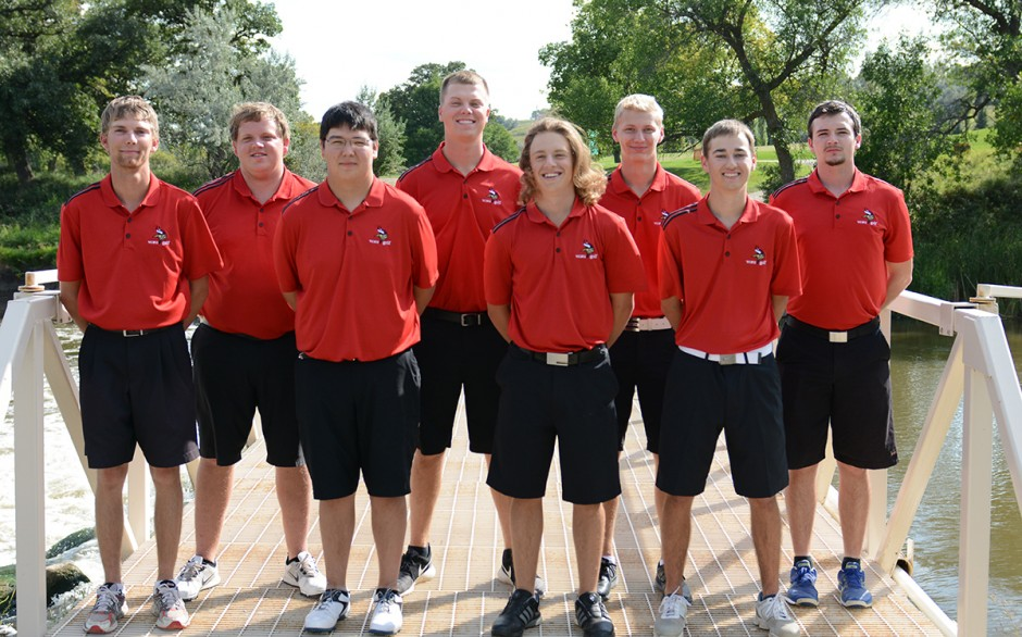 2017 Men's Golf Team Photo